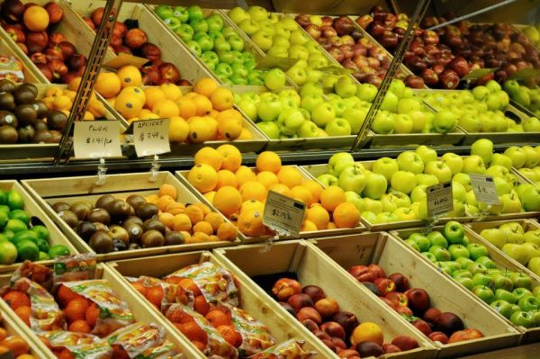 Fresh fruit grocery