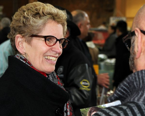 Stock Photo - Ontario Premier Kathleen Wynne | Photo Credit: Corporate Video Production Toronto by Joseph Morris