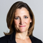 Chrystia Freeland, Minister of International Trade (source: GAC)