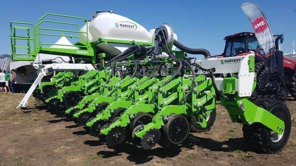 The new Clean Seed Smart Planter unveiled at Ag in Motion near Langham, Saskatchewan on Tuesday.